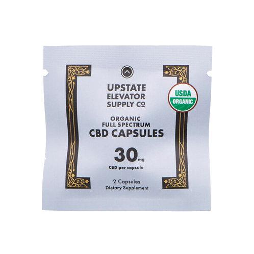 Organic CBD Capsules 2ct 30mg