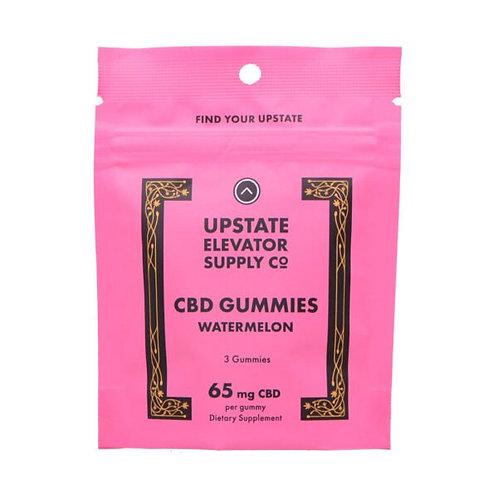 CBD Gummies Watermelon 3ct 65mg