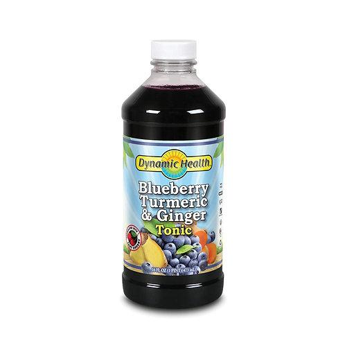 Blueberry Turmeric & Ginger Tonic