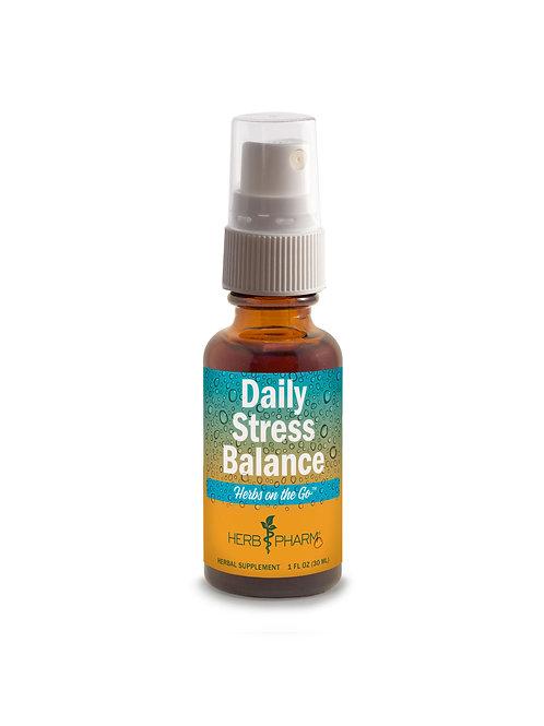 Herbs on the Go: Daily Stress Balance