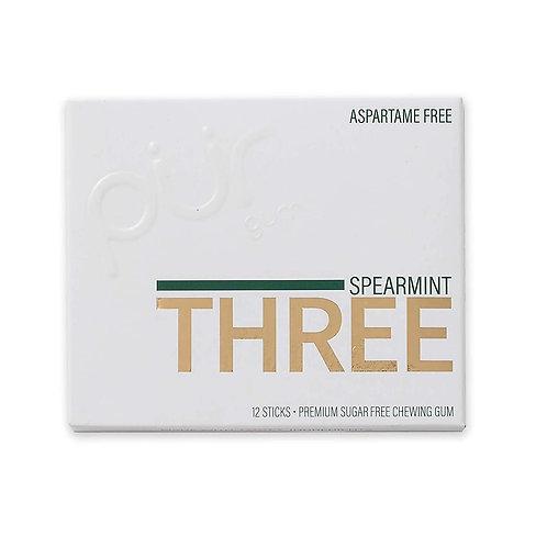 Spearmint Xylitol Gum Three