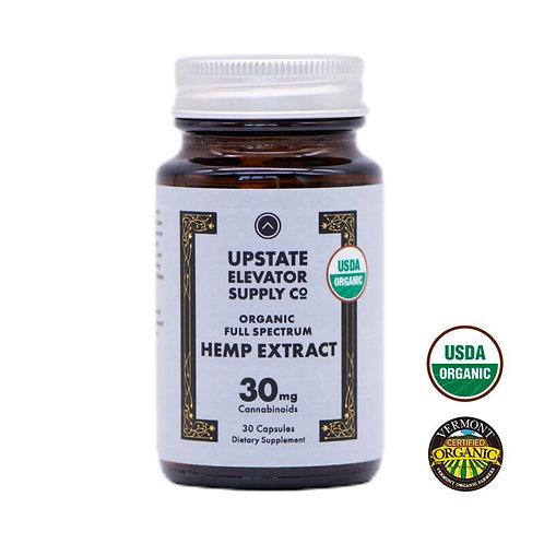 Organic Hemp Extract 30ct 30mg