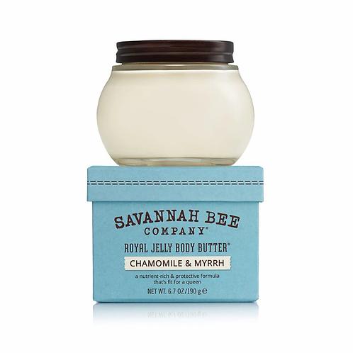 Royal Jelly Body Butter Chamomile & Myrrh