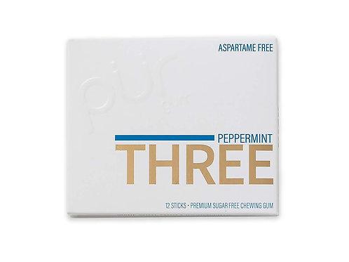 Peppermint Xylitol Gum Three