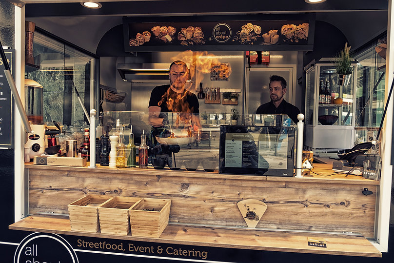 Foodtruck Catering in Zürich / live Cooking