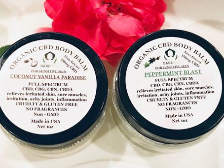 Natural Deodorant & Organic Pit Care .. Bare Pits is offering FULL SPECTRUM 150mg CBD hemp heali
