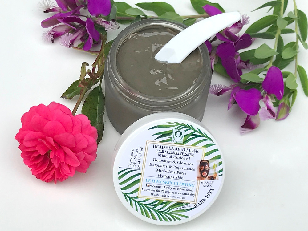 The best organic dead sea mud mask for face & body