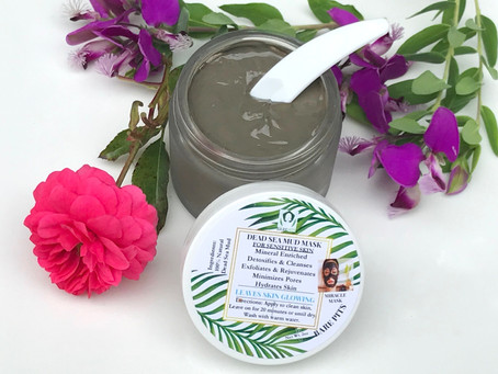 Bare Pits dead sea mud mask is a MIRACLE FACIAL in a jar. Detox and get HYDRATED GLOWING SKIN!