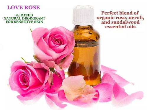 Bare Pits Organic LOVE ROSE Propietary Essential Oil Blend 3ml