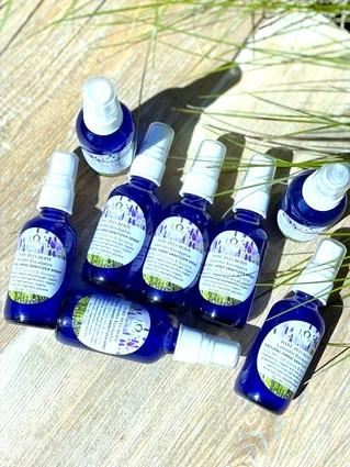 Bare Pits Body Natural 99% Proof Non Toxic HAND SANITIZER SPRAY Organic Lavender Eucalyptus 2 or 4oz