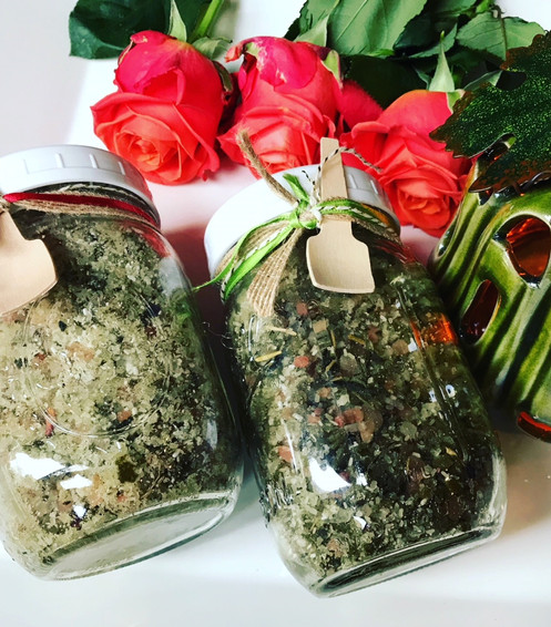 Bare Pits Natural Organic Mineral Salt Foot Detox Soak 16 oz, Pit Spray  Gift Set