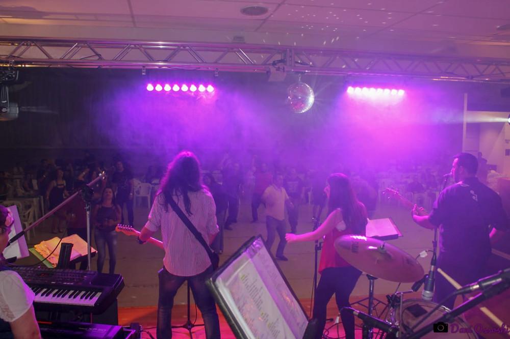 Banda Magia em festa empresarial