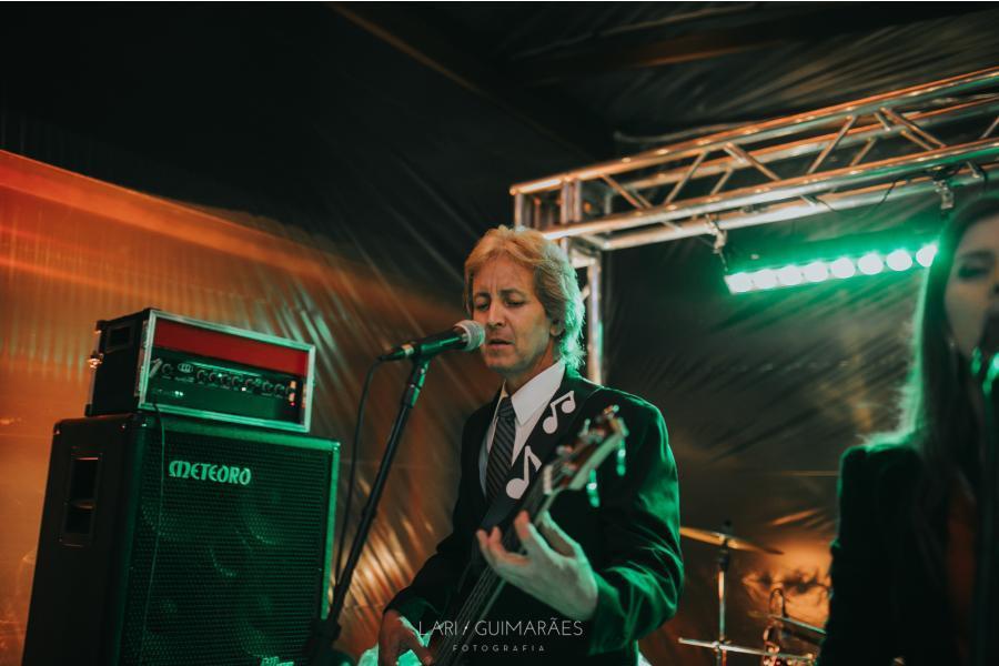 Banda Magia Curitiba atuando em festa de casamento. Campo Largo