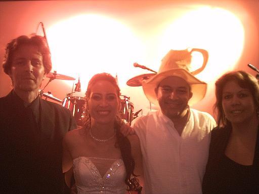 Banda com Noivos - Festa no Restaurante Veneza