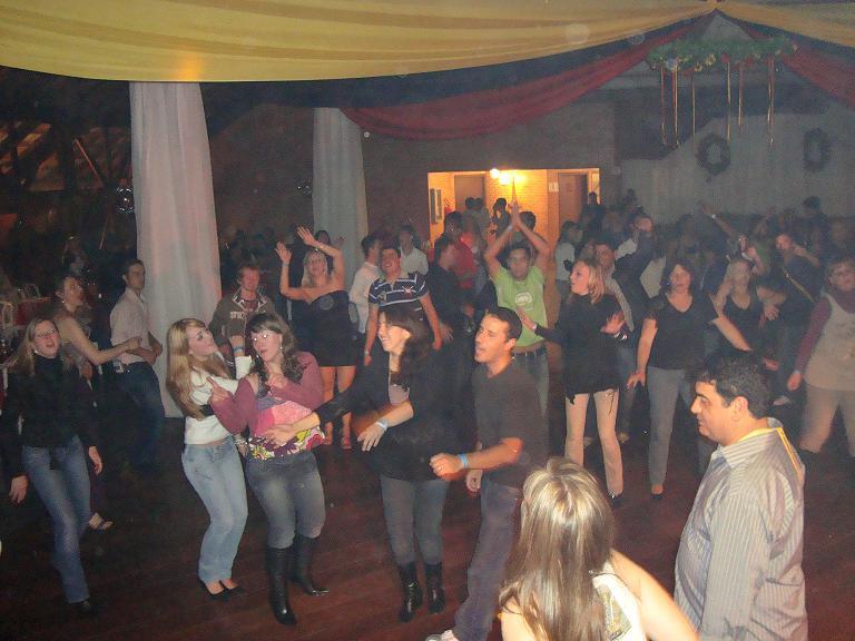 Banda Magia em festa do Choop