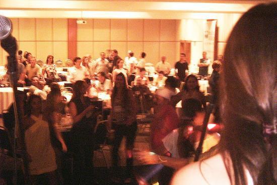 Confraternização de Empresa festa com Banda Magia
