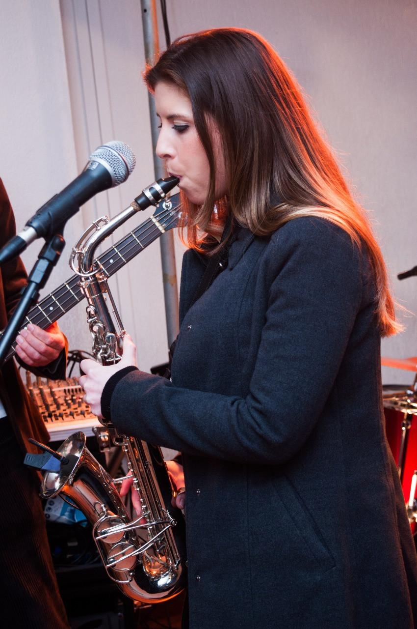 Aniversário da Inêz com a Banda Magia Curitiba - Sax