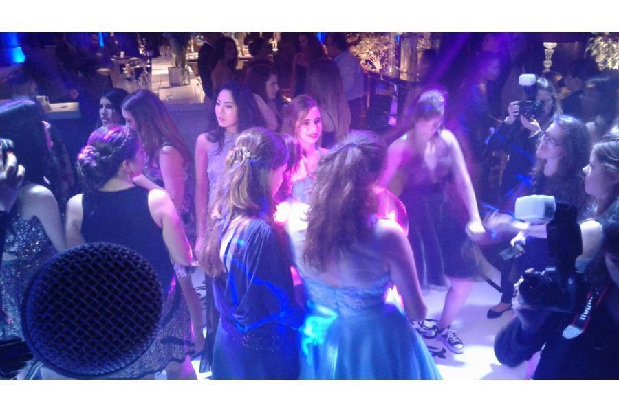 Pista de dança, festa da Maria Amélia no Taboo Eventos ao som da Banda Magia Curitiba