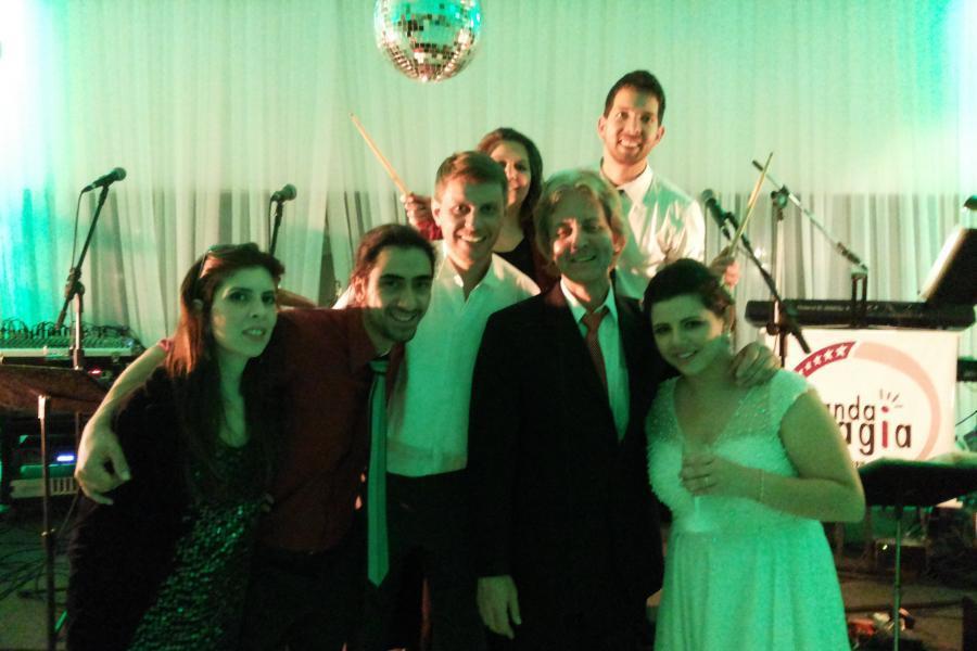 Final da festa de casamento. Missão casamento cumprida