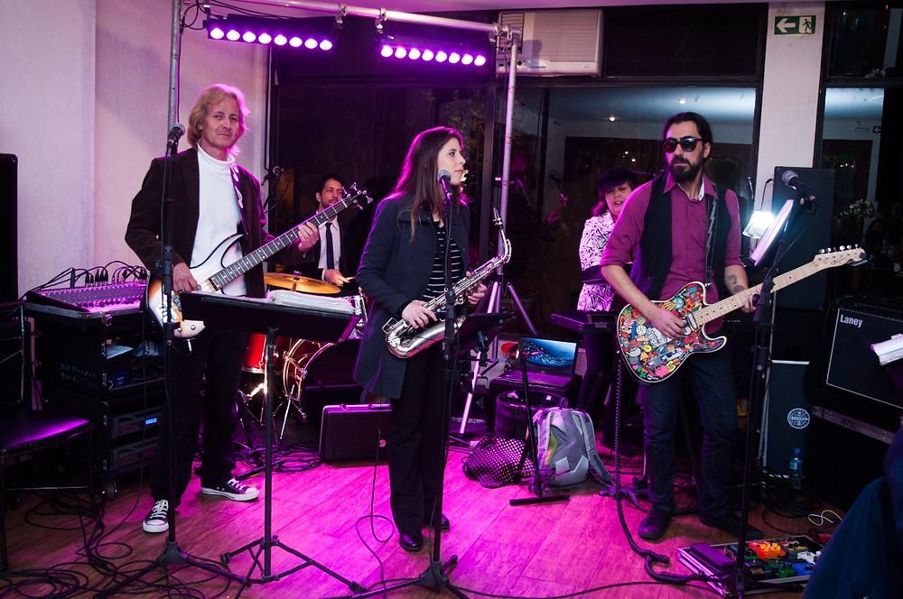 Aniversário da Inêz com a Banda Magia Curitiba