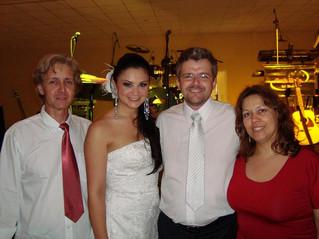 Guarapuava Casamento Elaine e Norbert 07 11 2009 - buffet vitri