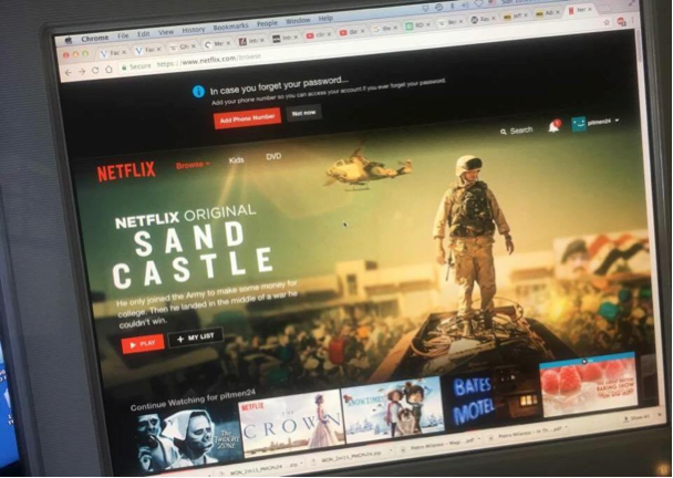 Sand Castle on the home of Netflix