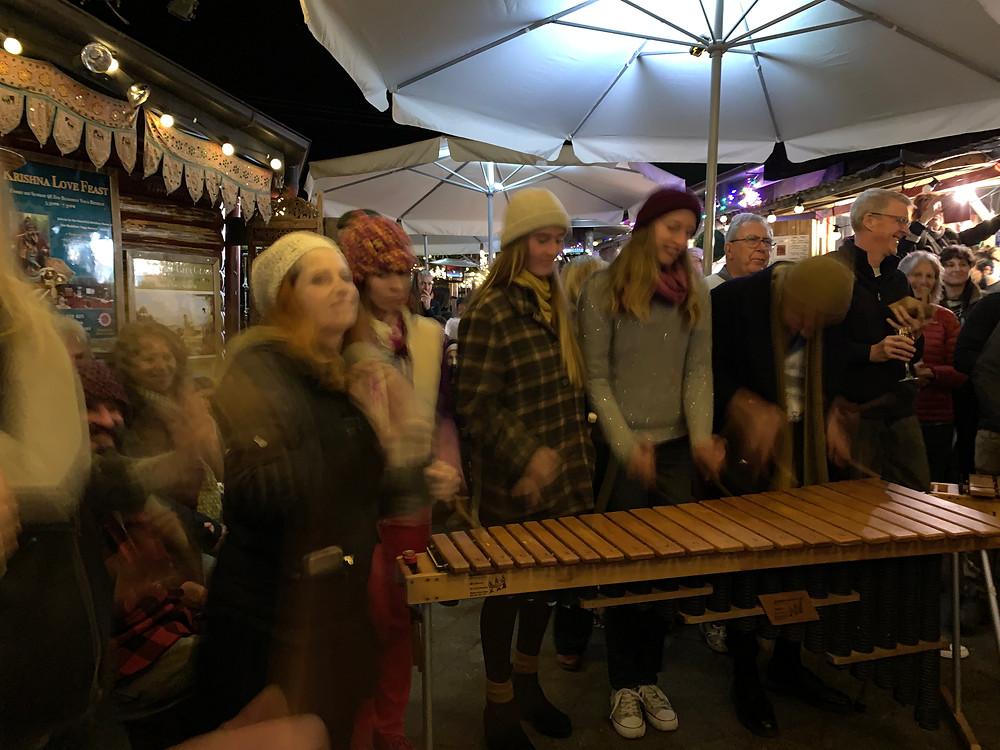 Community music at Maleny Lane