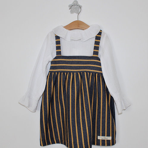 Vestido e Blusa Rayas