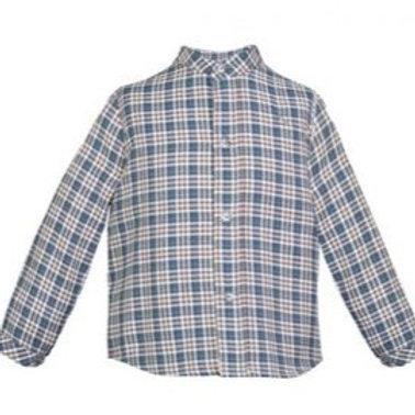 Camisa Xadrez Petróleo