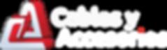 Cables y accesorios Logo Blanco