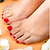 Basic Pedicure with Shellac Color