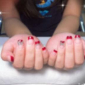 #Nails_Design , #NailsArt at #LKSalonNai