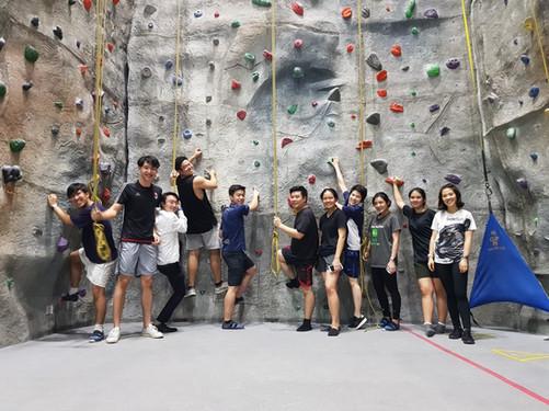 Team Activity - Rock Climbing
