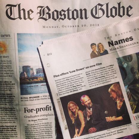 Boston Globe Article on Q&A
