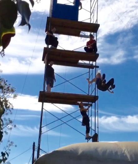 High Fall Training