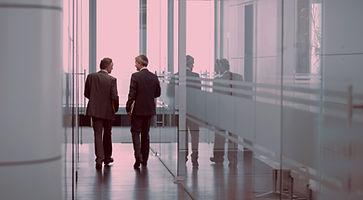 Executives Having A Conversation