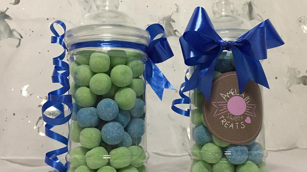 Apple and Blue Raspberry Bonbons