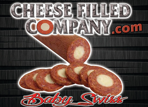 Baby Swiss Cheese Filled Pepperoni
