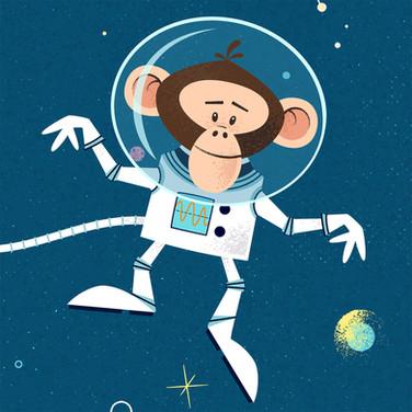 Bizarrerie de l'espace