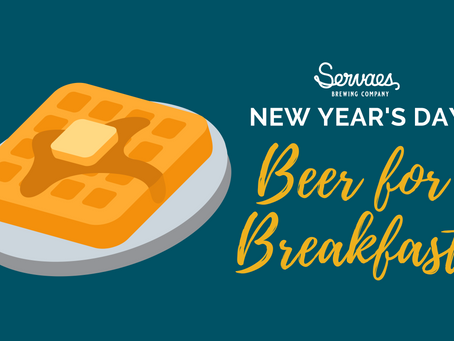 New Year's Day Beer for Breakfast event