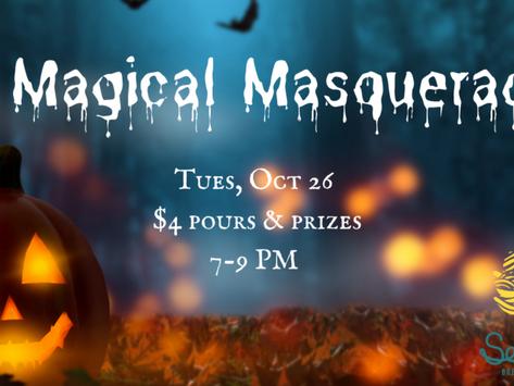 Special Edition Trivia: A Magical Masquerade Oct. 26
