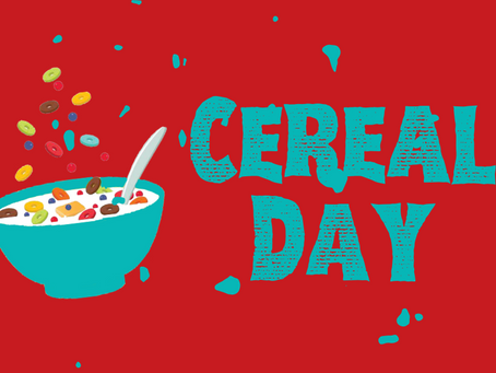 Cereal Day returns Saturday, March 6