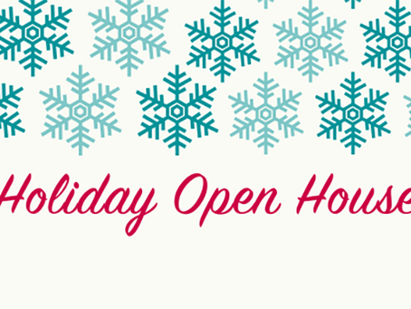 Holiday Open House + Sip & Shop