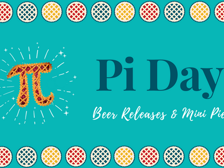 Pi Day beer releases coming March 13