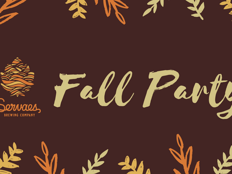 Fall beers drop this weekend!