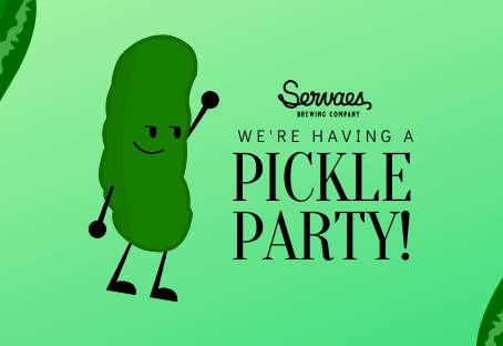 We're having a Pickle Party Sept. 18!