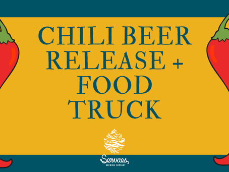 Jan. 16 Chili Beer Release & Food Truck
