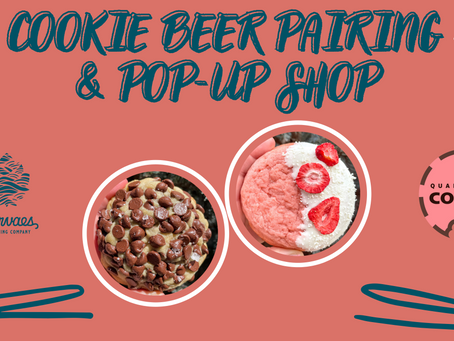 Cookie Beer Pairing & Pop-Up Shop set for Aug. 13