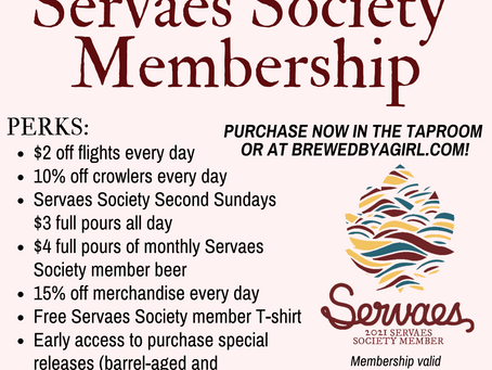2021 Servaes Society memberships now available!