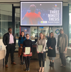 3 Minute Thesis Finalists - 2020